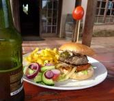Hangklip Hotel Restaurant Burger Beer